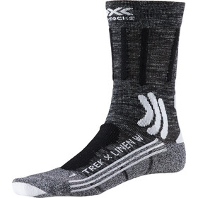 X-Socks Trek X Linen Socks Damen dolomite grey melange/opal black